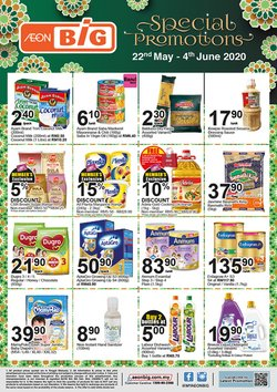 Supermarkets offers in the AEON Big catalogue in Sunway-Subang Jaya  ( 9 days left )
