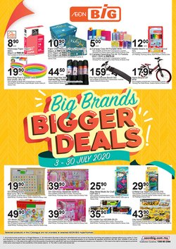 AEON Big catalogue in Kedah ( 19 days left )