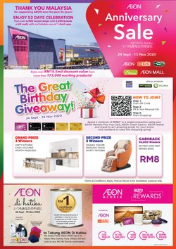 AEON Big catalogue in Sunway-Subang Jaya ( 3 days ago )
