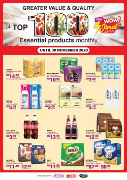 Supermarkets offers in AEON Big catalogue ( 6 days left)