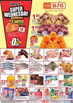 Offers from AEON Big in the Kuantan leaflet