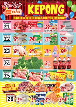 Supermarkets offers in the AEON Big catalogue in Kuala Lumpur