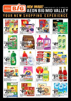 Offers from AEON Big in the Ipoh leaflet