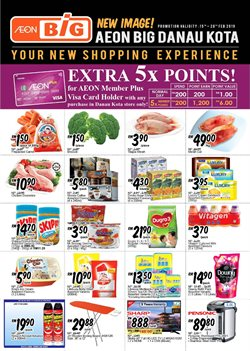 Tropicana City Mall offers in the AEON Big catalogue in Petaling Jaya