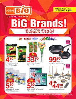 Offers from AEON Big in the Shah Alam leaflet