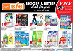 Supermarkets offers in the AEON Big catalogue in Petaling Jaya