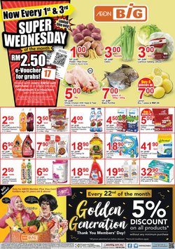 Offers from AEON Big in the Klang leaflet