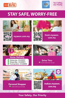 AEON Big offers in AEON Big catalogue ( More than a month)