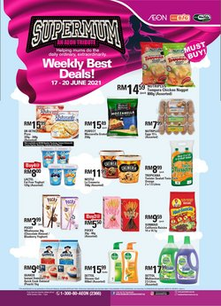 Supermarkets offers in AEON Big catalogue ( Published today)