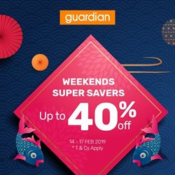 Offers from Guardian in the Kota Kinabalu leaflet