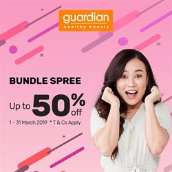 Offers from Guardian in the Sunway-Subang Jaya  leaflet