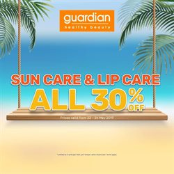 Offers from Guardian in the Kuala Lumpur leaflet