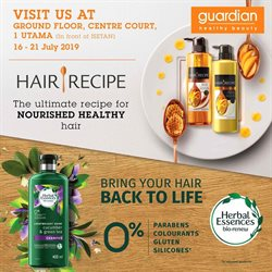 Offers from Guardian in the Shah Alam leaflet
