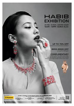 Jewellery & Watches offers in the Habib Jewels catalogue ( 1 day ago )