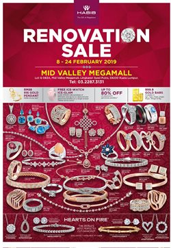 Offers from Habib Jewels in the Petaling Jaya leaflet