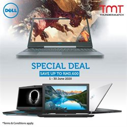 Electronics & Appliances offers in the Dell catalogue in Kajang-Bangi ( 3 days ago )