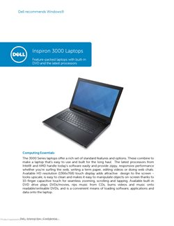 Offers from Dell in the Kajang-Bangi leaflet