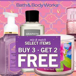 Bath & Body Works offers in Bath & Body Works catalogue ( Expired)