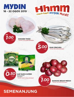 Offers from Mydin in the Ipoh leaflet