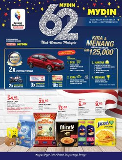 Offers from Mydin in the Kuching leaflet