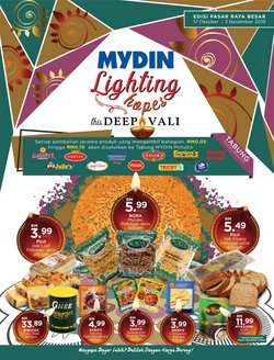 Supermarkets offers in the Mydin catalogue in Melaka