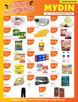 Offers from Mydin in the Penang leaflet
