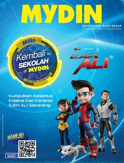Offers from Mydin in the Johor Bahru leaflet