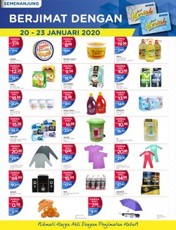 Supermarkets offers in the Mydin catalogue in Seremban