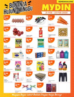 Supermarkets offers in the Mydin catalogue in Johor Bahru ( Expires tomorrow )