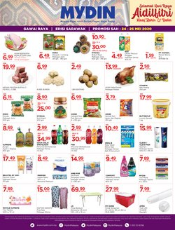 Supermarkets offers in the Mydin catalogue in Sunway-Subang Jaya  ( Expires today )