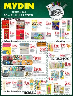 Supermarkets offers in the Mydin catalogue in Kedah ( 17 days left )