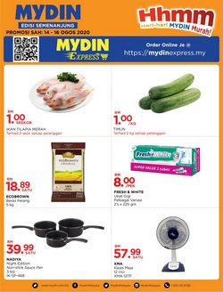 Supermarkets offers in the Mydin catalogue in Seremban ( Expires tomorrow )