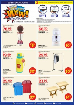 Supermarkets offers in the Mydin catalogue in Kajang-Bangi ( 1 day ago )