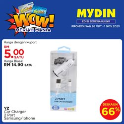 Supermarkets offers in Mydin catalogue ( Published today)