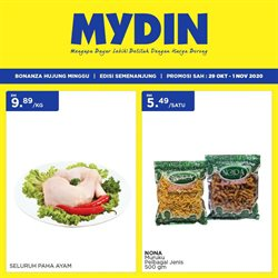 Supermarkets offers in Mydin catalogue ( Expires tomorrow)