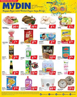 Supermarkets offers in the Mydin WholeSale Emporium catalogue in Kuala Lumpur