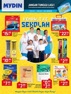 Offers from Mydin WholeSale Emporium in the Penang leaflet