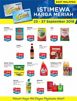 Supermarkets offers in the Mydin catalogue in Kuala Lumpur