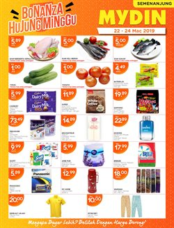 Offers from Mydin in the Melaka leaflet