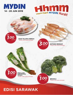 Offers from Mydin in the Klang leaflet