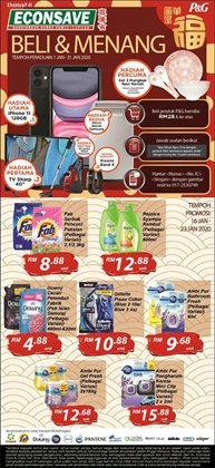 Offers from Econsave in the Penang leaflet