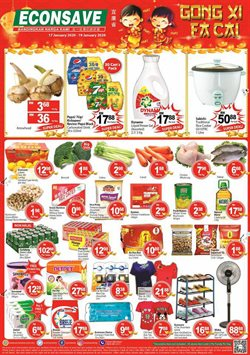 Supermarkets offers in the Econsave catalogue in Shah Alam