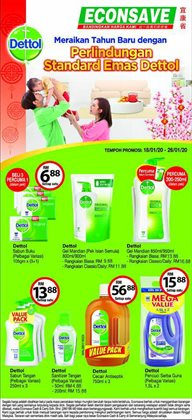 Offers from Econsave in the Ipoh leaflet