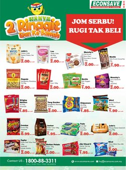 Econsave catalogue in Johor Bahru ( More than a month )