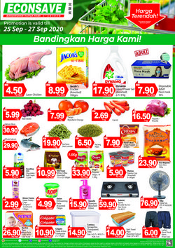 Supermarkets offers in the Econsave catalogue in Johor Bahru ( Expires tomorrow )