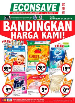 Offers from Econsave in the Kuala Lumpur leaflet