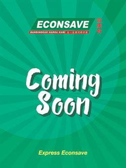 Offers from Econsave in the Kuantan leaflet