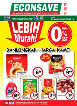 Offers from Econsave in the Johor Bahru leaflet