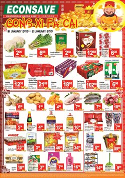 Supermarkets offers in the Econsave catalogue in Johor Bahru