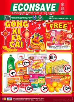 Offers from Econsave in the Kajang-Bangi leaflet